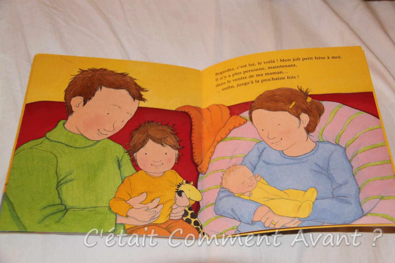 Il y a une maison dans ma maman livre 3 c 39 tait for Arrivee de bebe a la maison