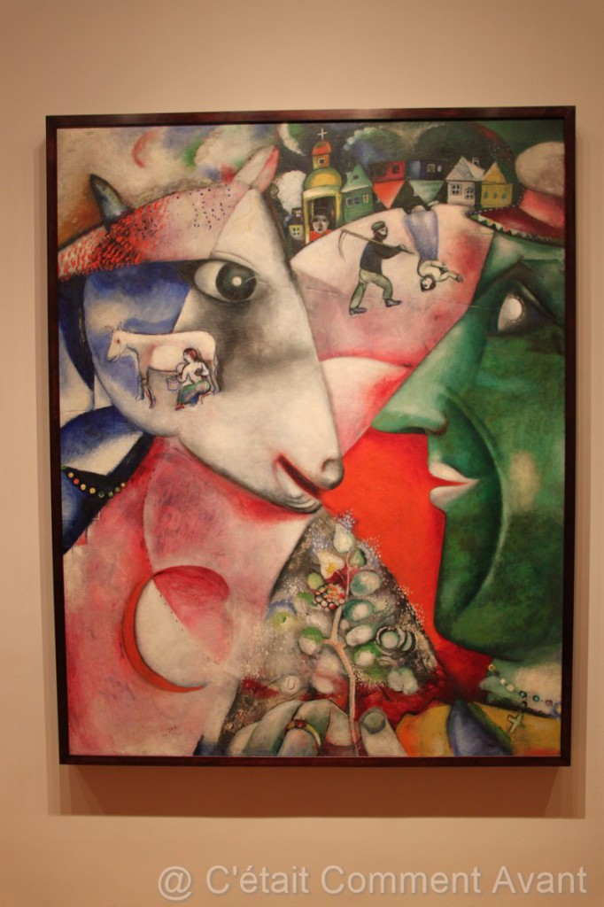 I and the village - Chagall