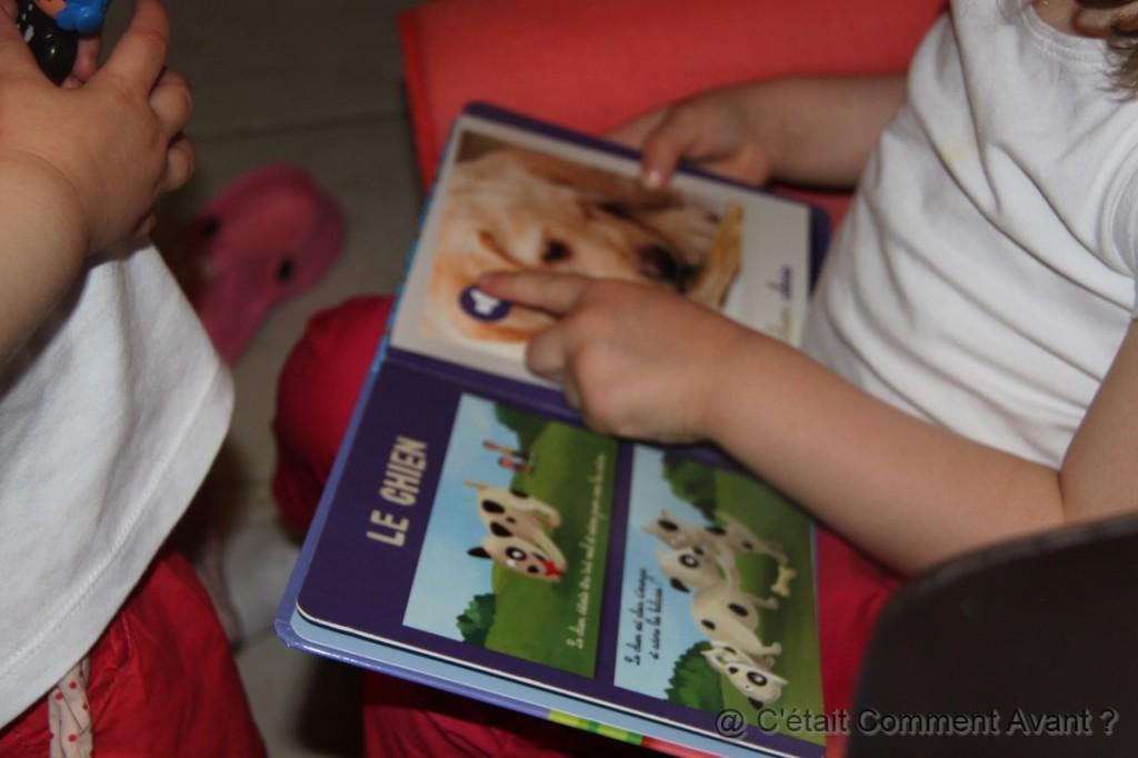 Ecouter ensemble le livre des animaux (poke Maman Clémentine)