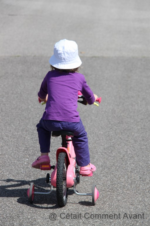 """Vouloir (enfin) pédaler sur son vélo (et perdre parfois la """"roule"""")"""