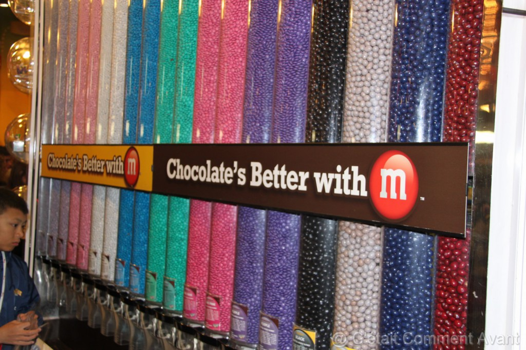 ...ou chocolat