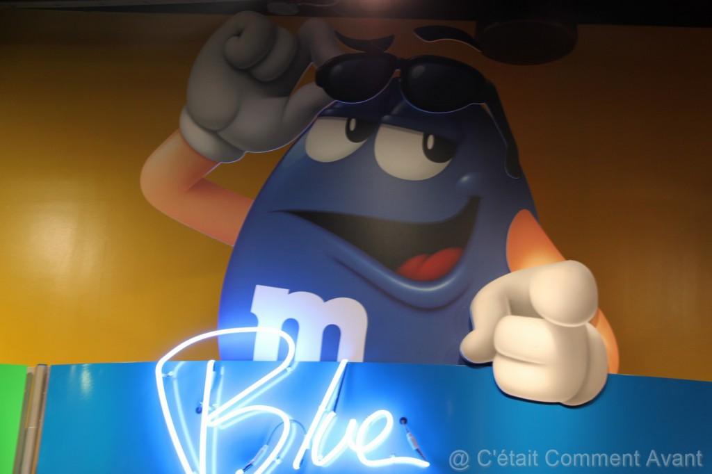 le bleu se la pète un peu :-)
