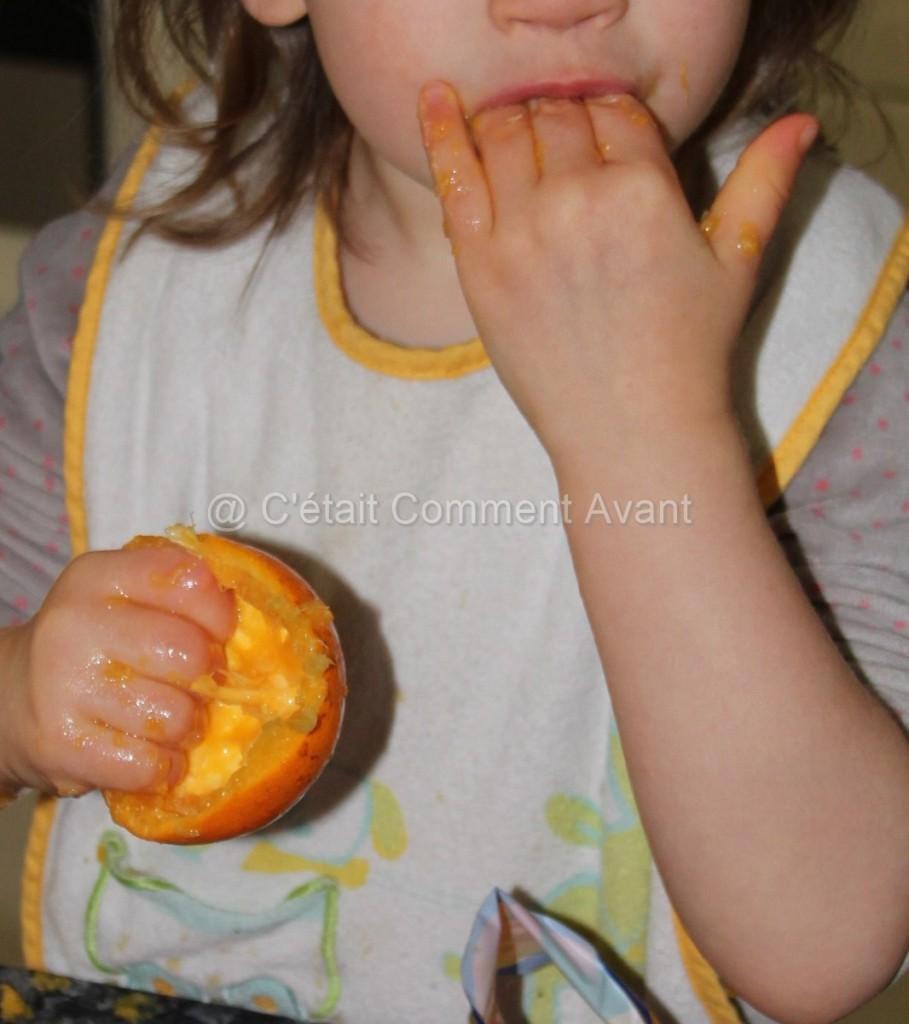 Faire la peau aux oranges !