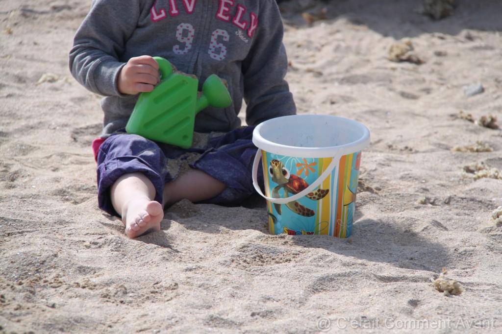 Retrouver avec plaisir la joie des pâtés de sable !