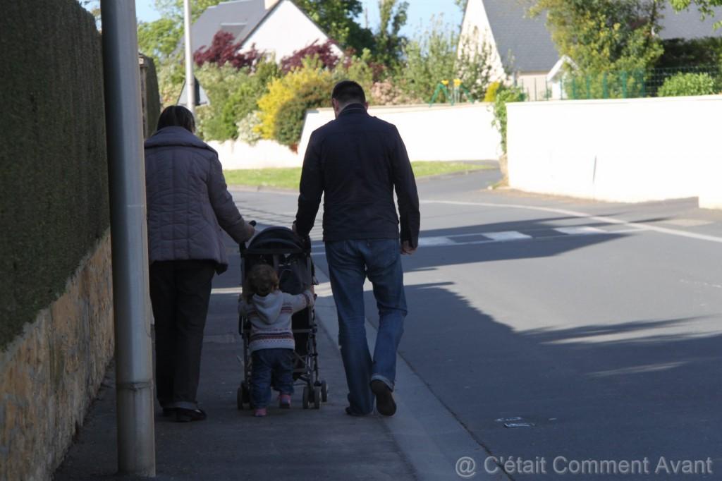 Se promener avec mamie
