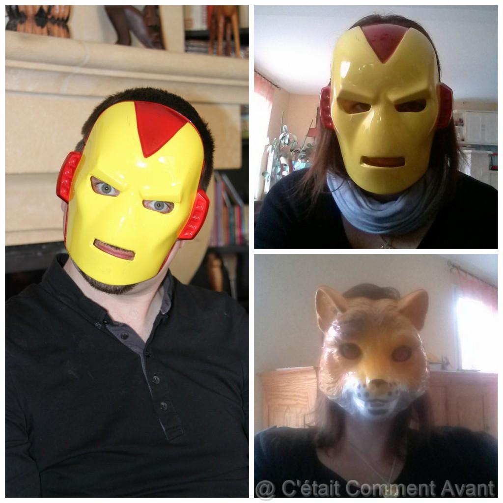 Essayer les déguisements du mon neveu !