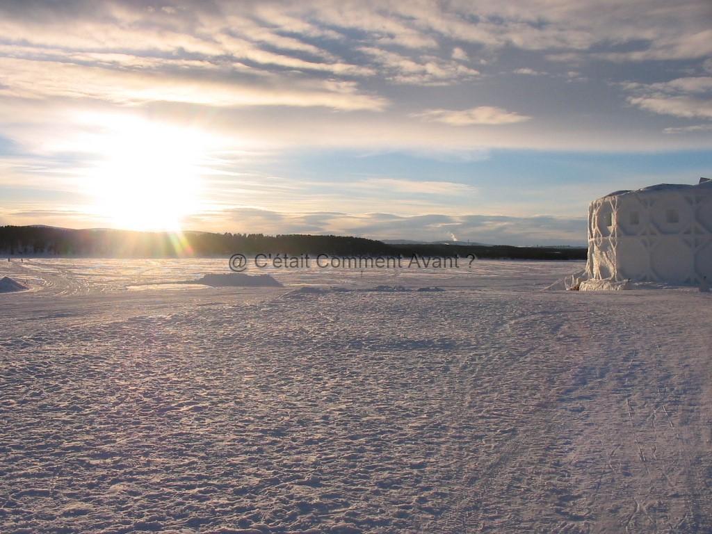 Kiruna (Laponie Suédoise)