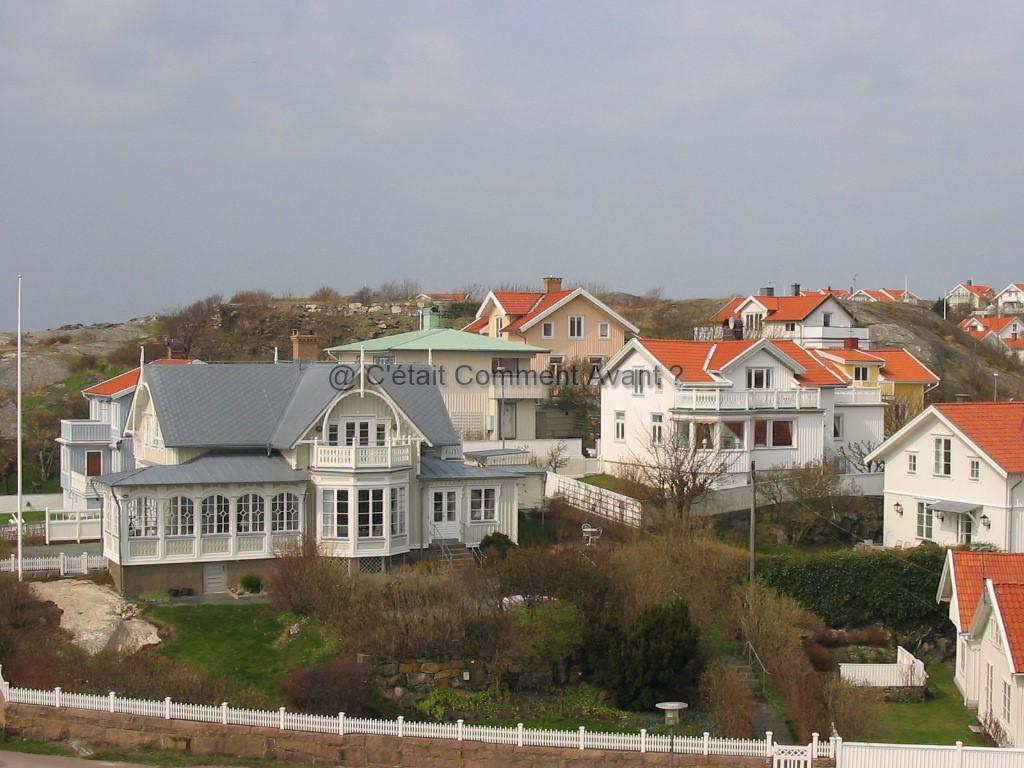 Iles au nord de Göteborg