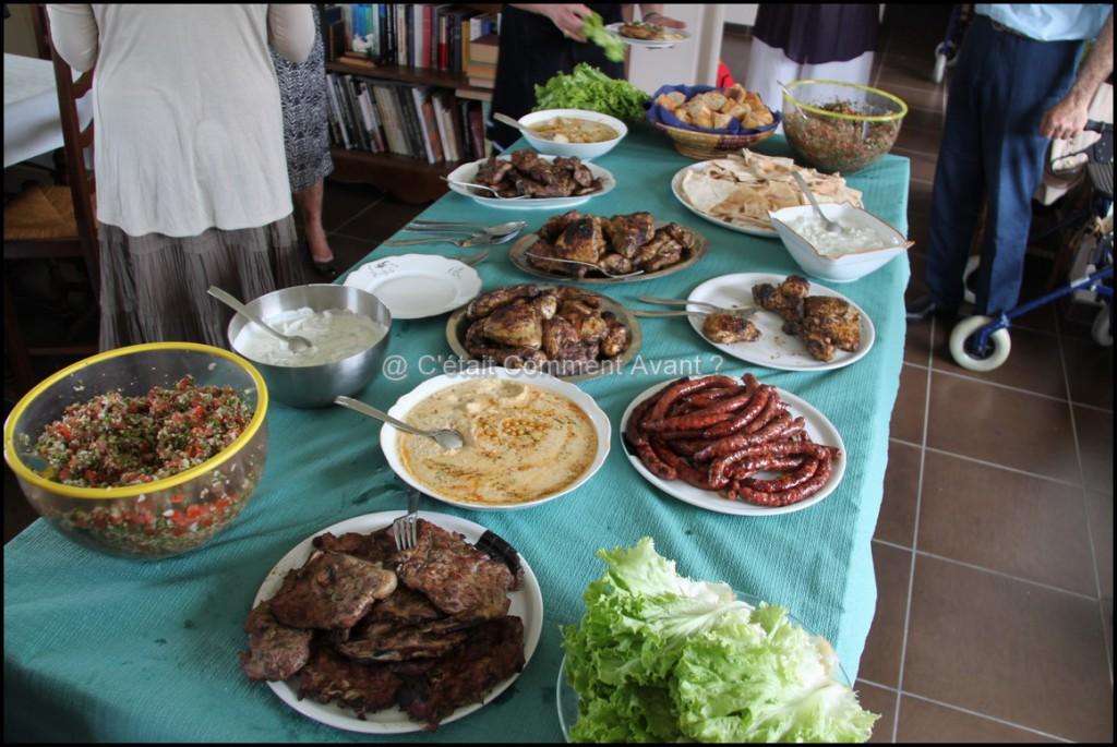 Quelques plats Libanais