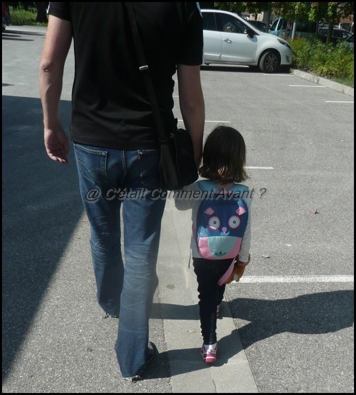 Etre accompagné par son papa