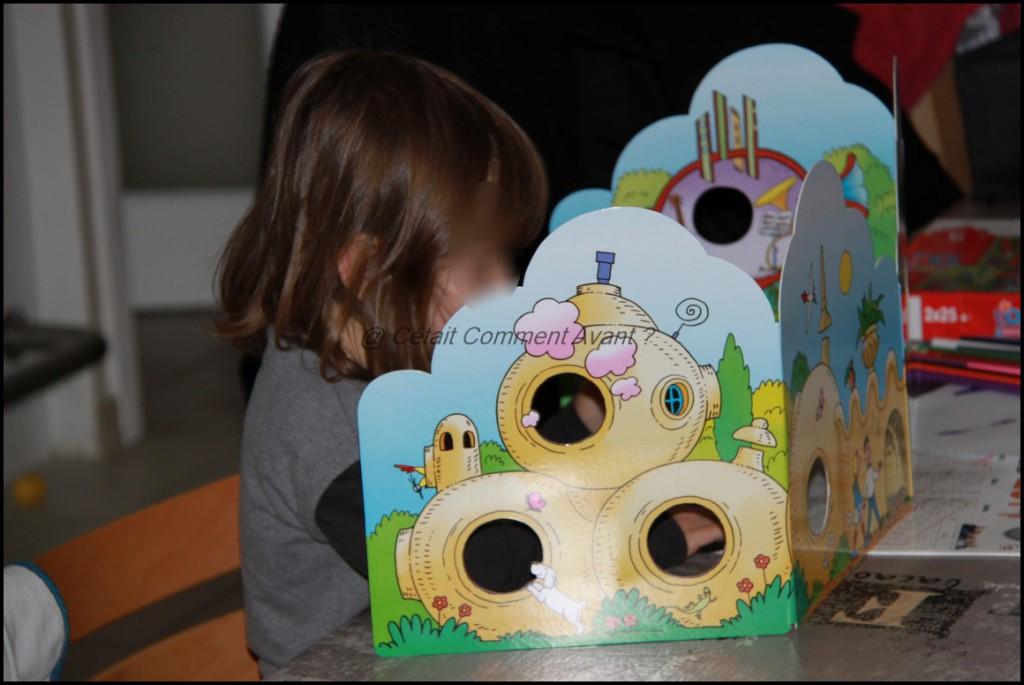 Adorer la maison Barbapapa et les marionnettes (je vous en reparle vite)
