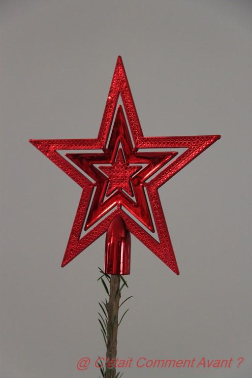 l'étoile tout là haut posé par Melle Pikotine