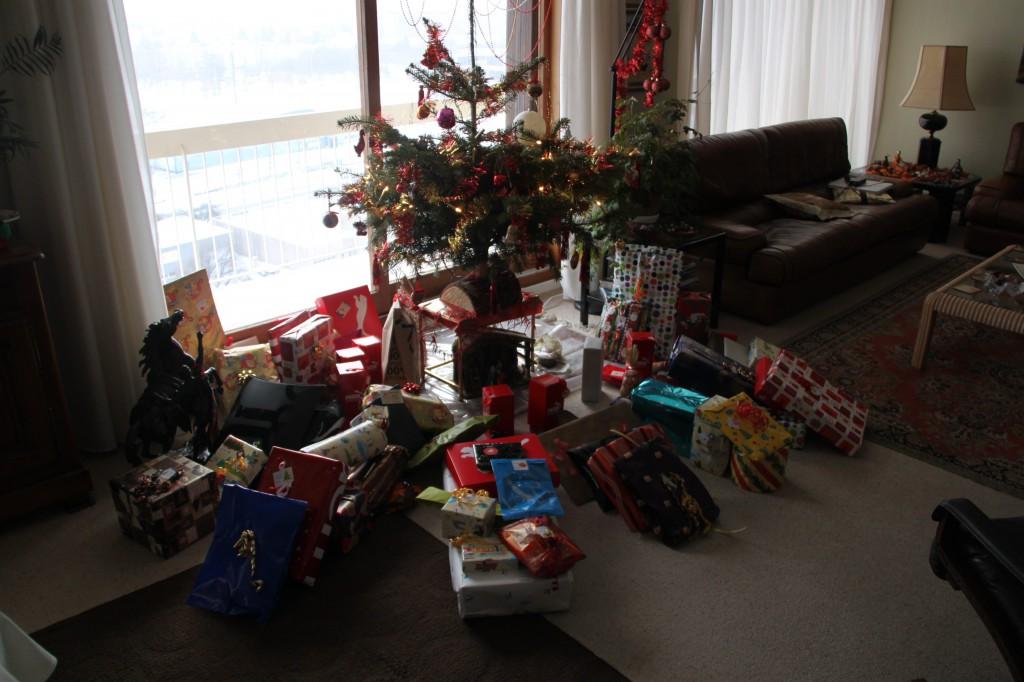 cadeaux sapin