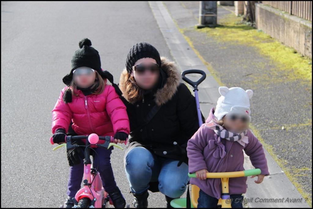 Faire une chouette balade en vélo dimanche dernier