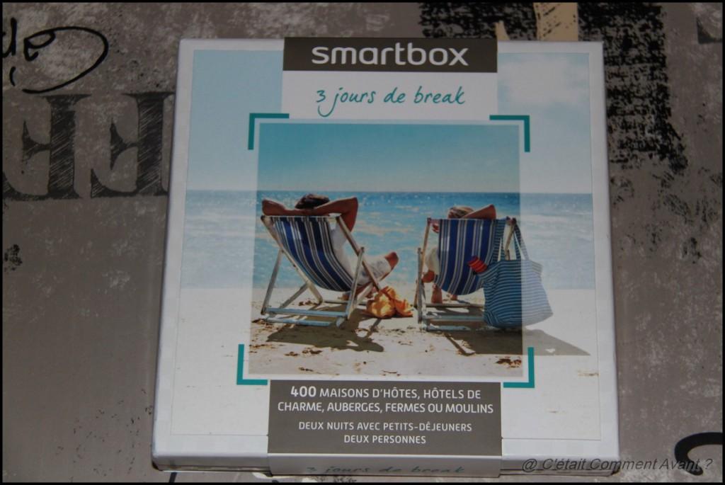 Recevoir une chouette smartbox de la part des mes patrons !
