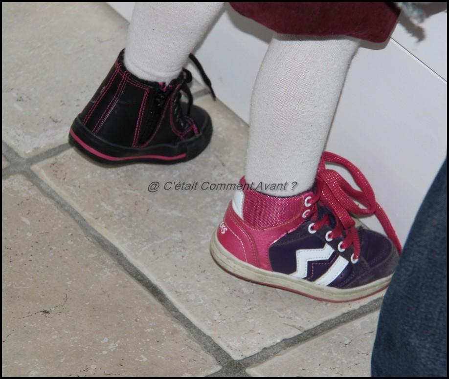 Se la jouer punky brewster avec les chaussures trop petites de sa soeur