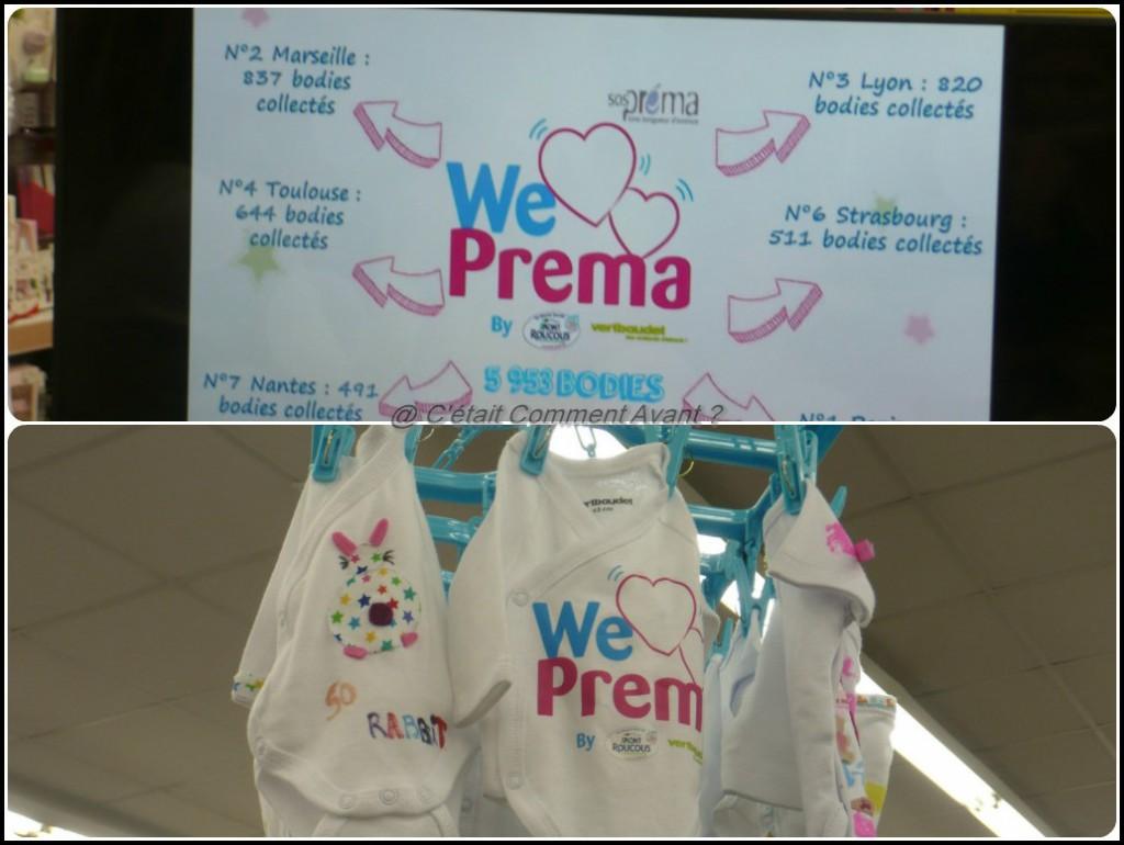 Passer une très bonne soirée pour la remise des body à l'association We Love Prema