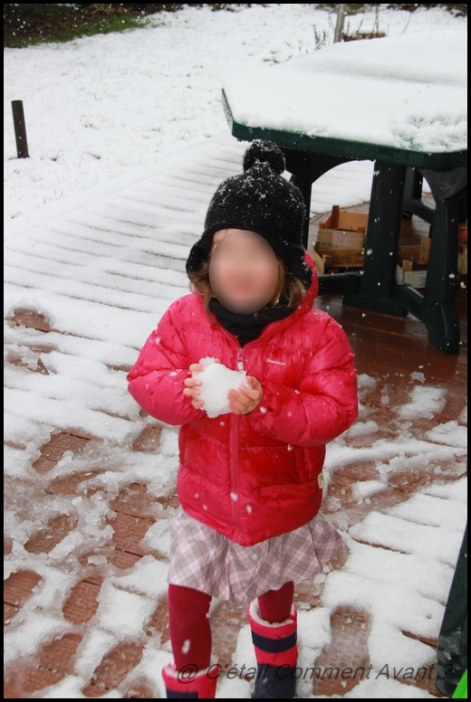 Adorer vraiment la neige (et ne pas avoir de tenue adéquate)