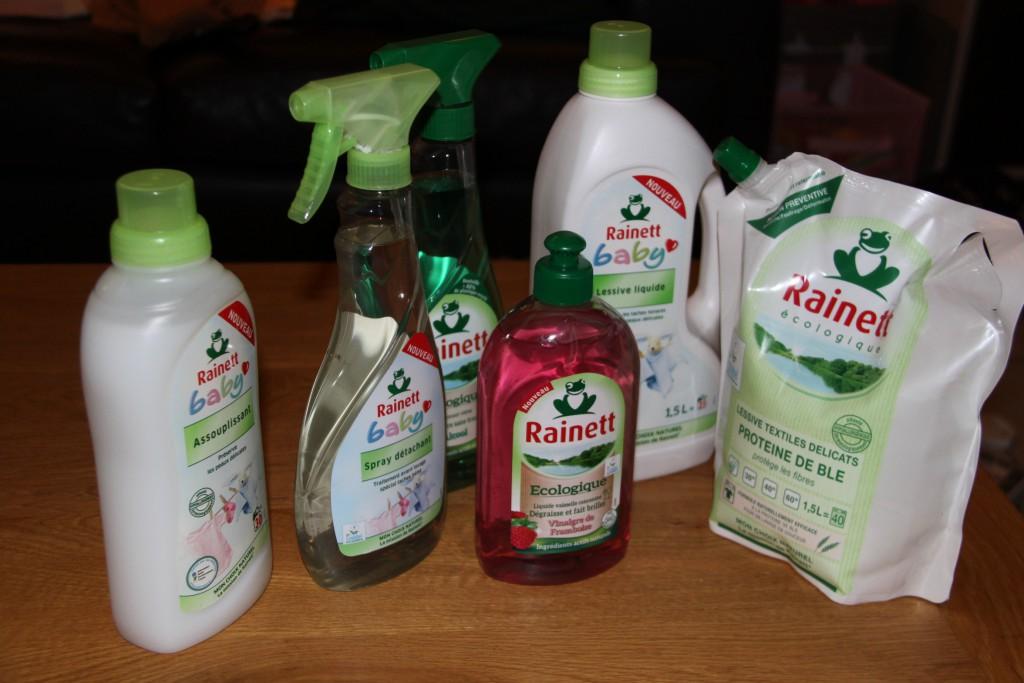 Recevoir plein de chouettes produits Rainett