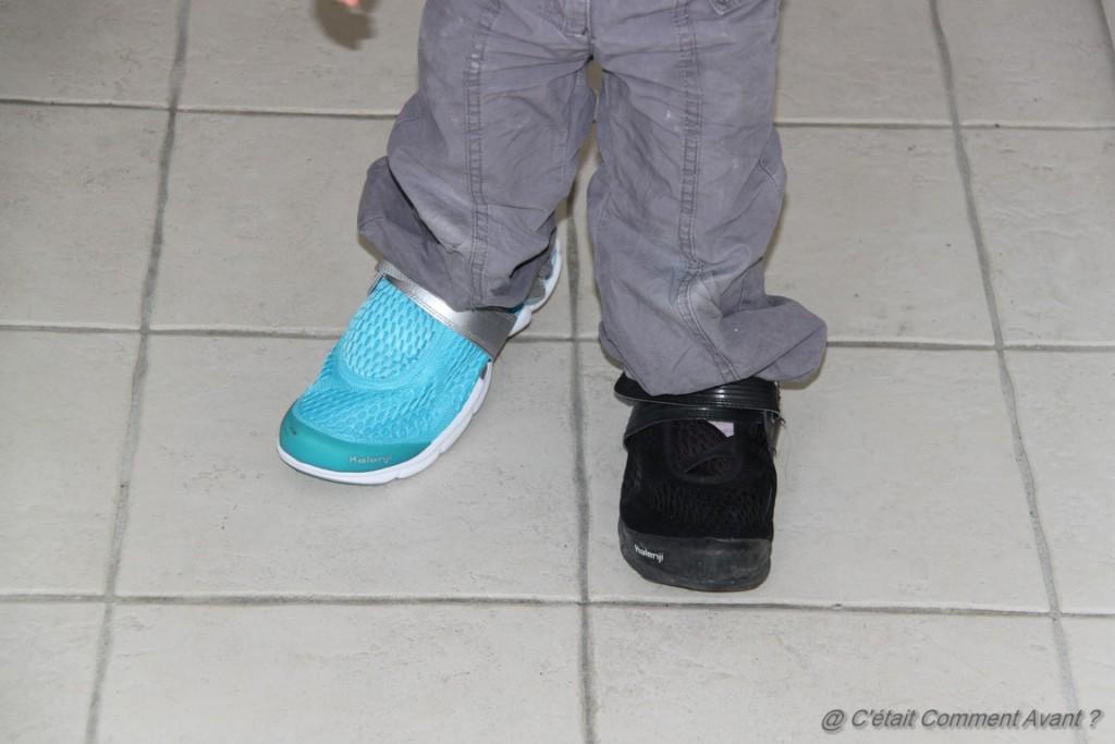 Kiffer les chaussures, surtout quand elles sont à l'envers