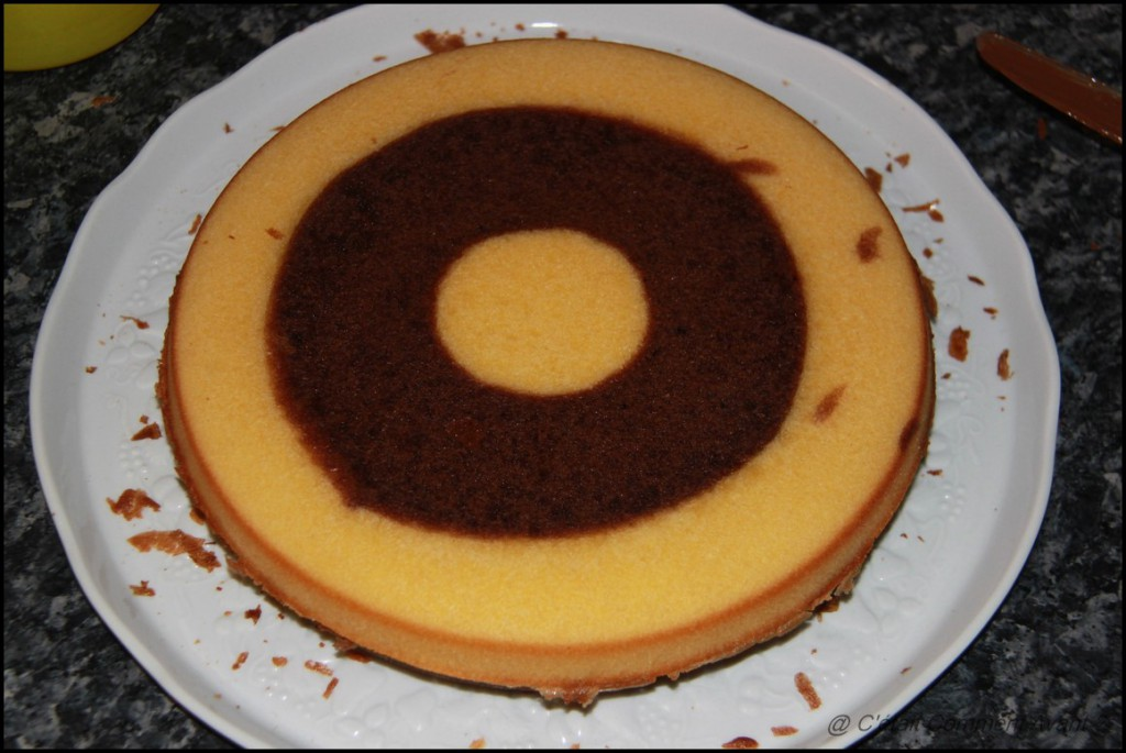 Retenter le gâteau damier