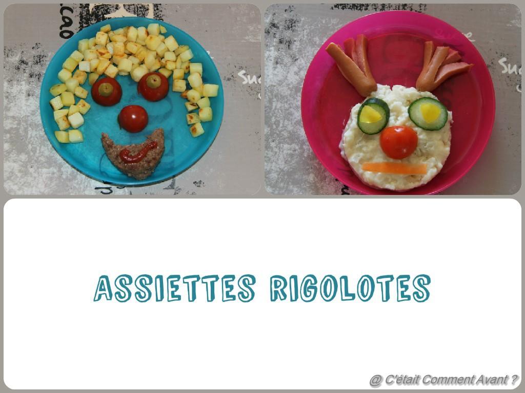 assiettes rigolotes (Copier)