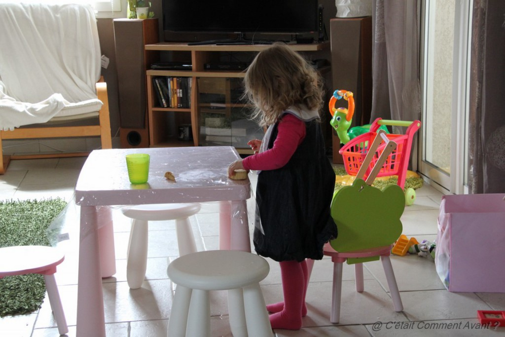 Nettoyer la table après le repas :-)