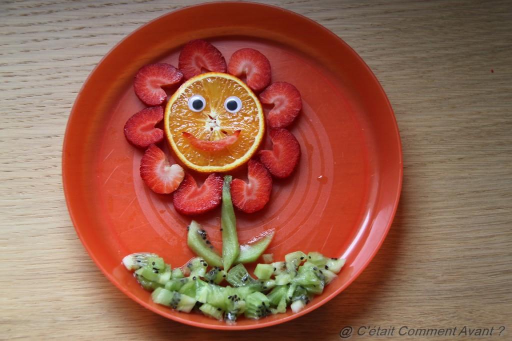 Faire un goûter fruité