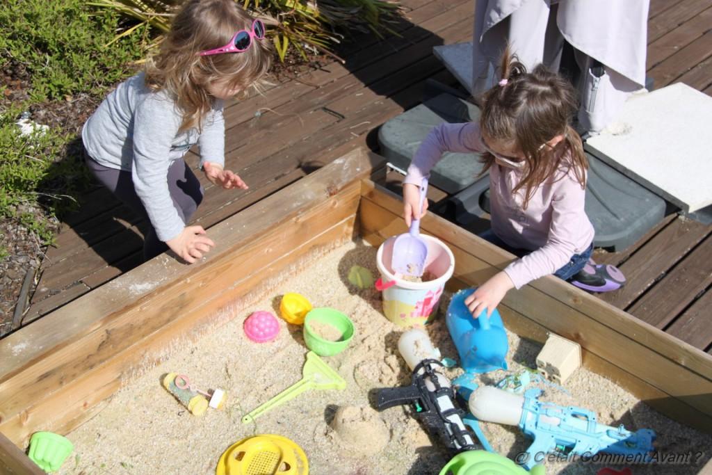 Déclarer la saison du bac à sable réouverte