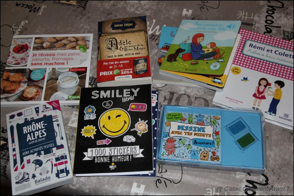 Recevoir 1 livre par jour dans ma boîte aux lettres