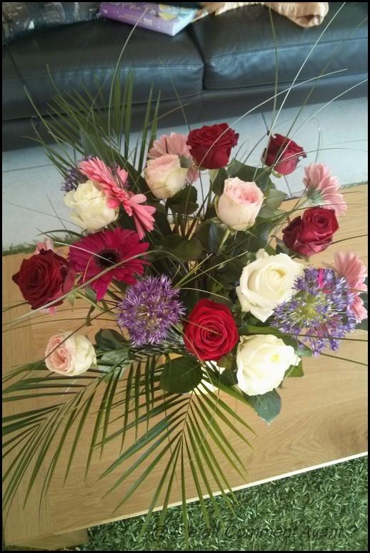 Recevoir un joli bouquet