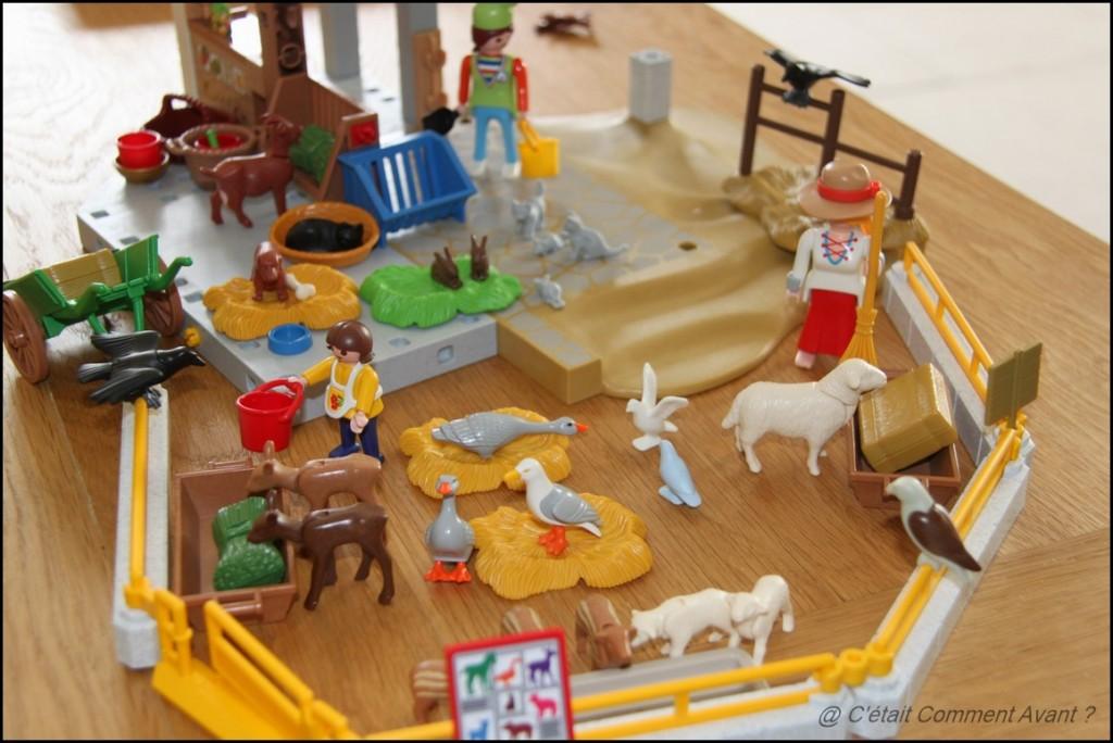 Jouer avec les trouvailles de vide grenier #Playmobils