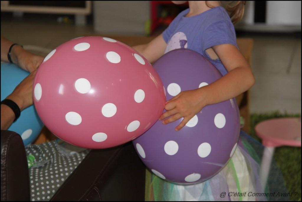 Ballon à pois