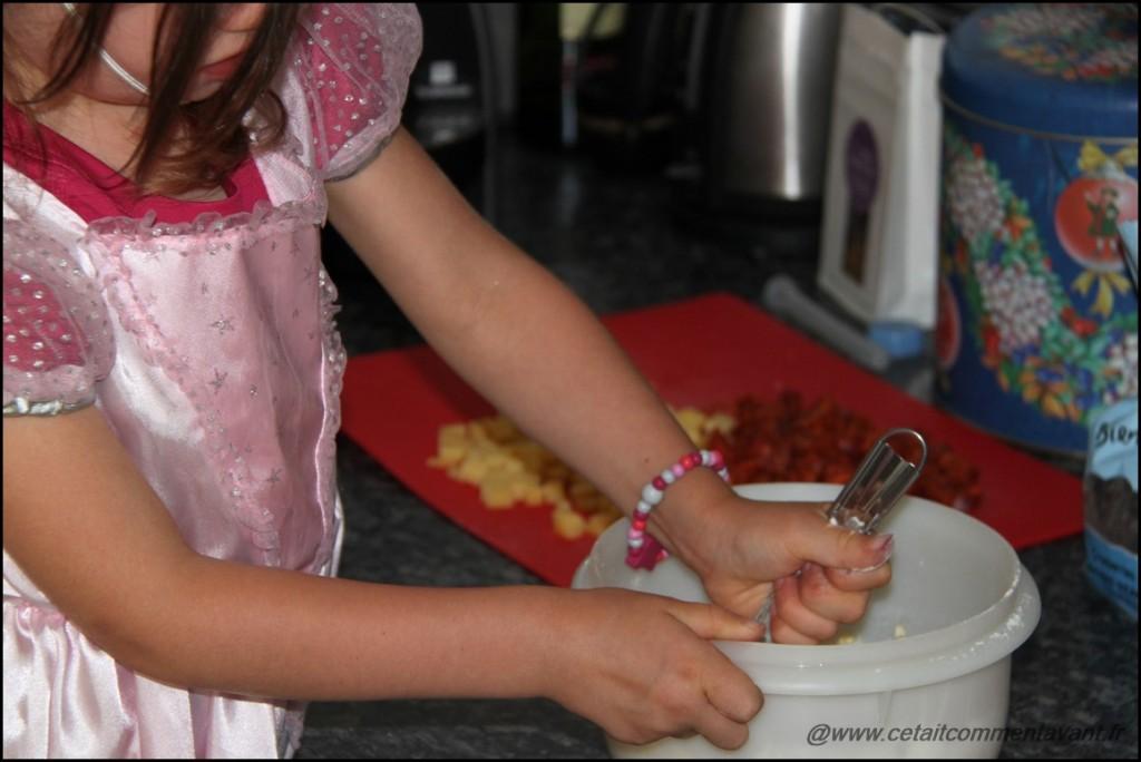 Etre une princesse et cuisiner quand même :D