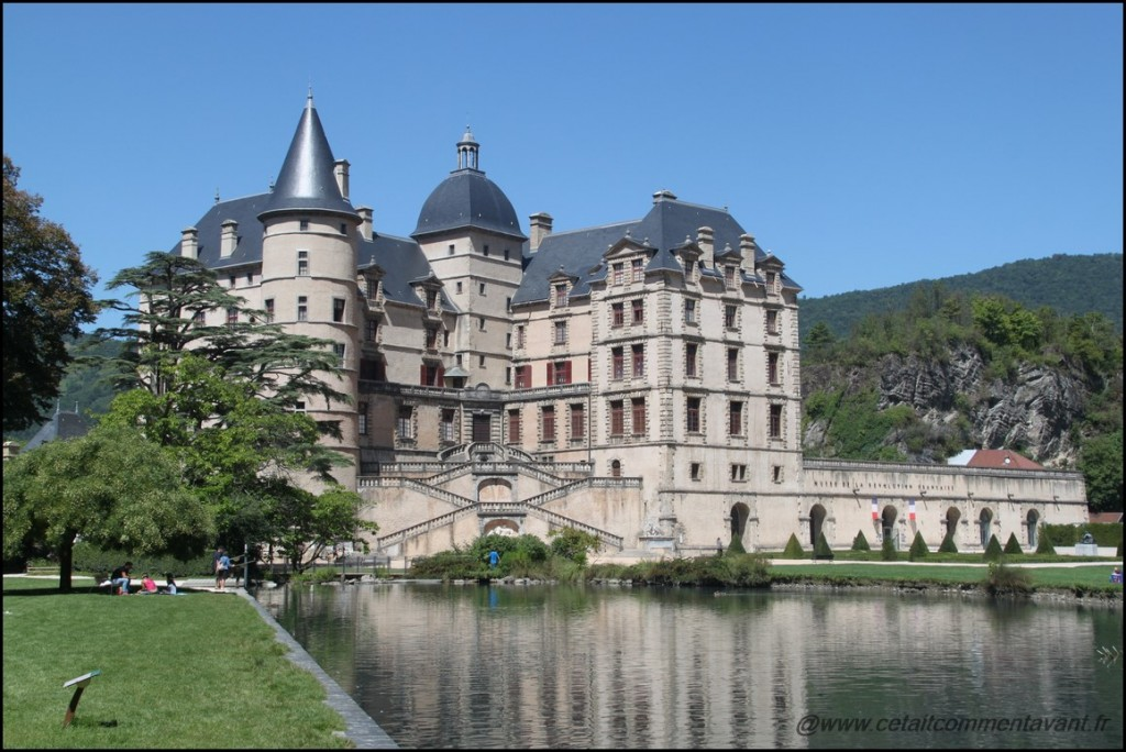 Aimer le chateau de Vizille et son parc