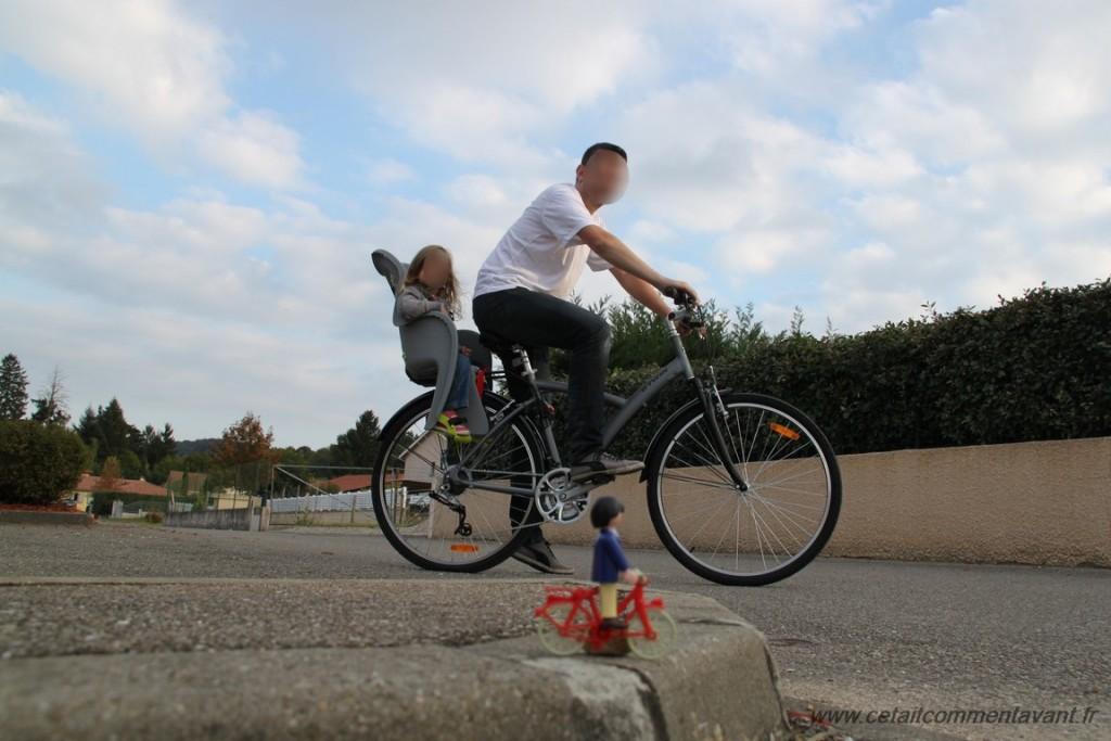 Faire une sortie vélo