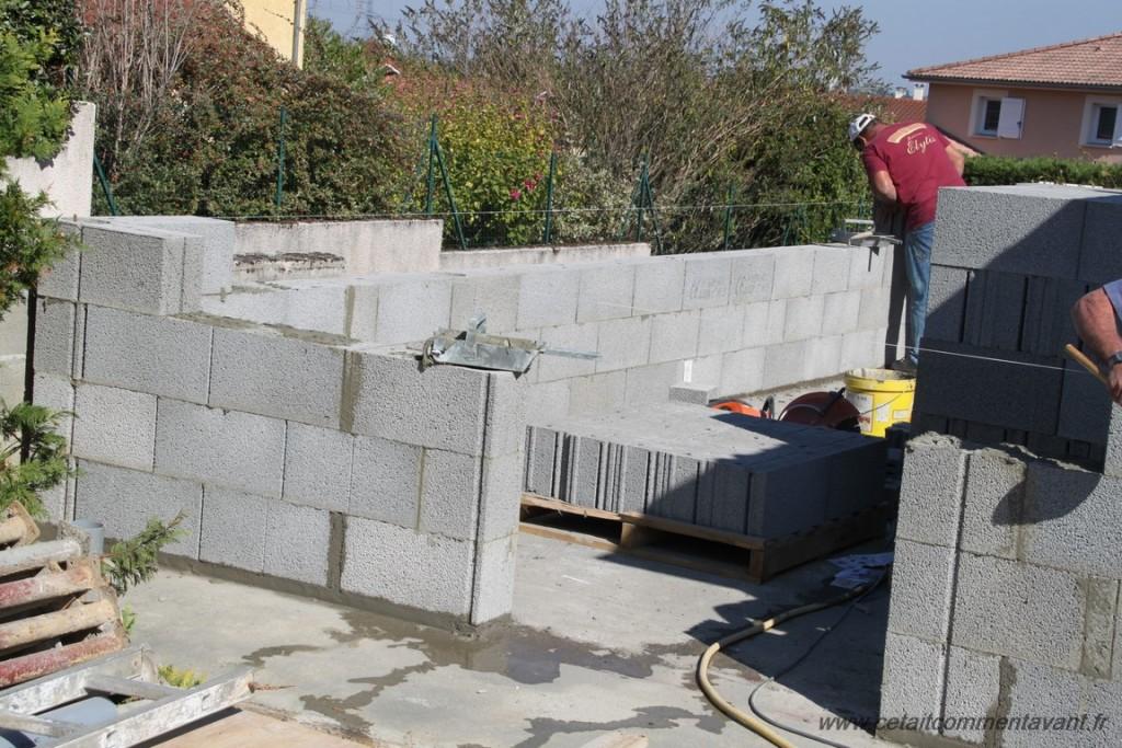 Monter les murs