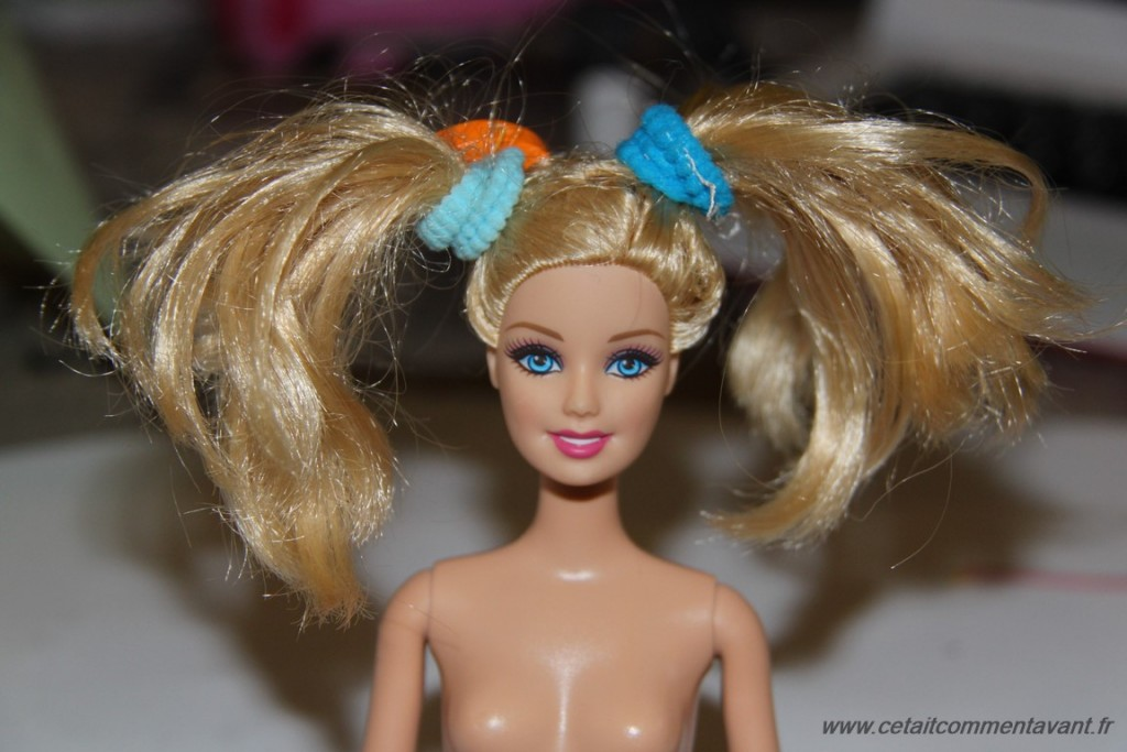 coiffer Barbie
