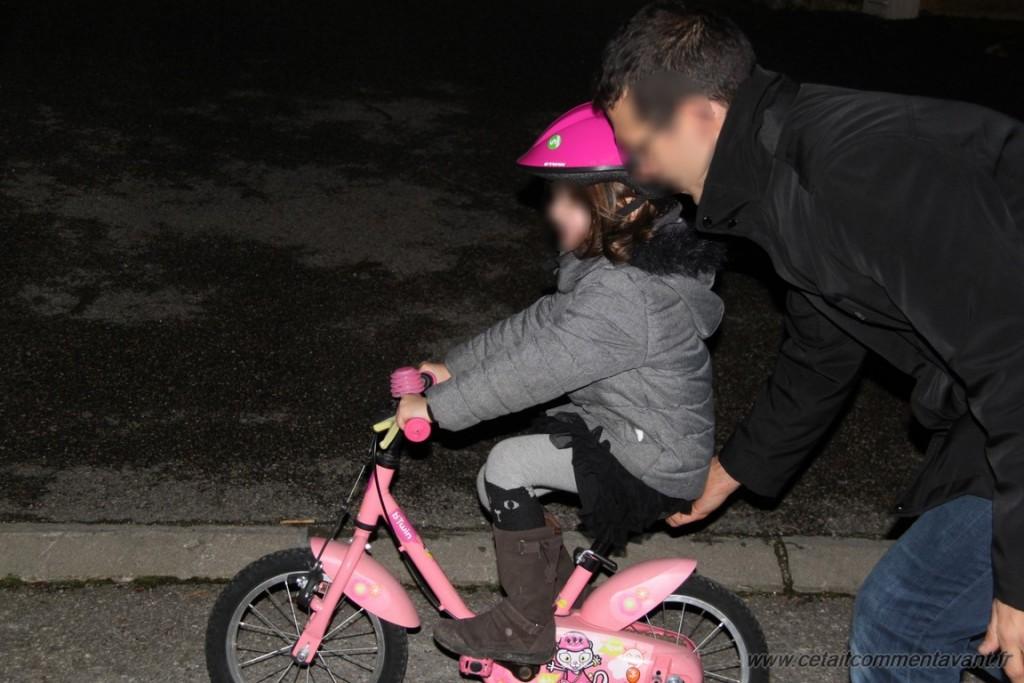vélo sans roulette