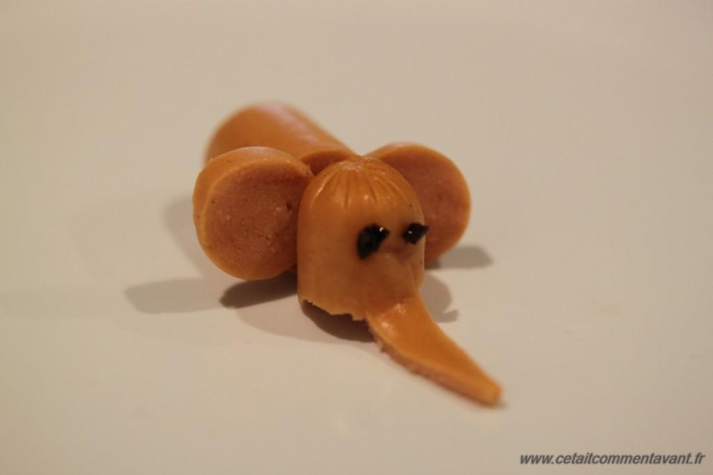food art éléphant