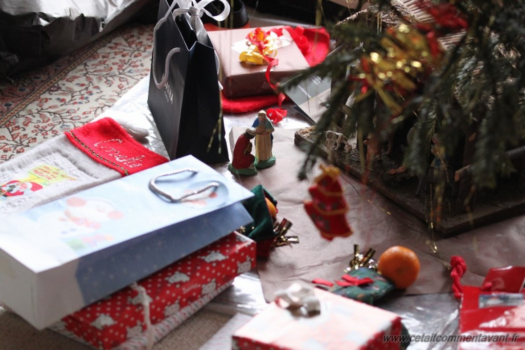 Encore des cadeaux au pied d'un sapin !