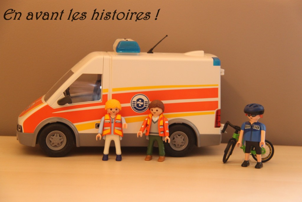 ambulance et secouriste ok