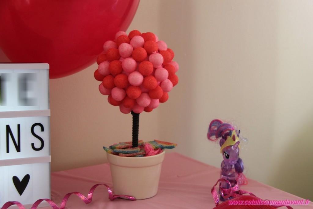 L'arbre à bonbons fraise tagada