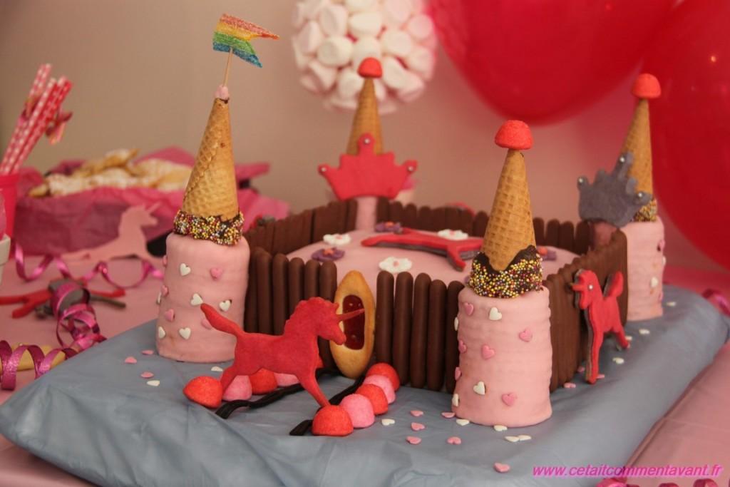 Le gâteau de princesse :)