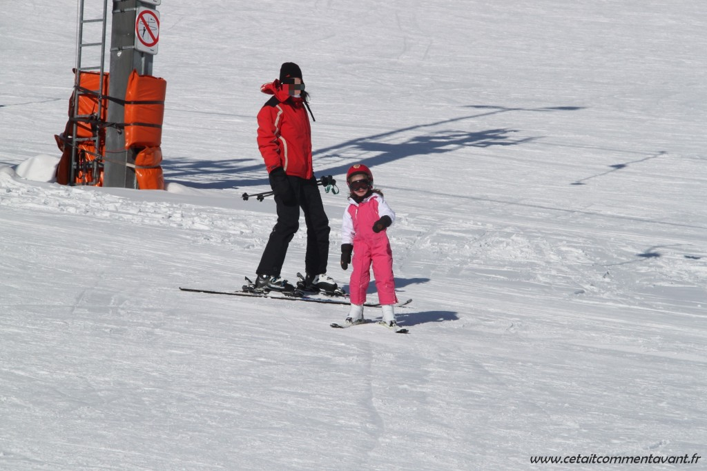 Skier avec ma puce !