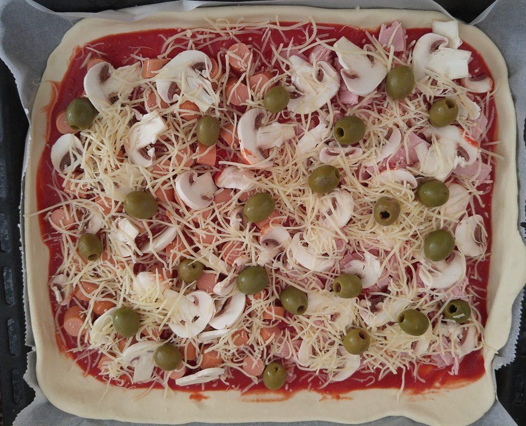 La pizza maison du mercredi soir !