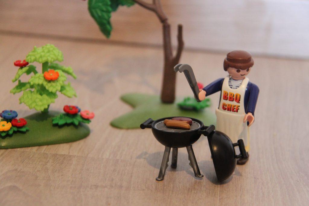 Chef papa au Barbecue !