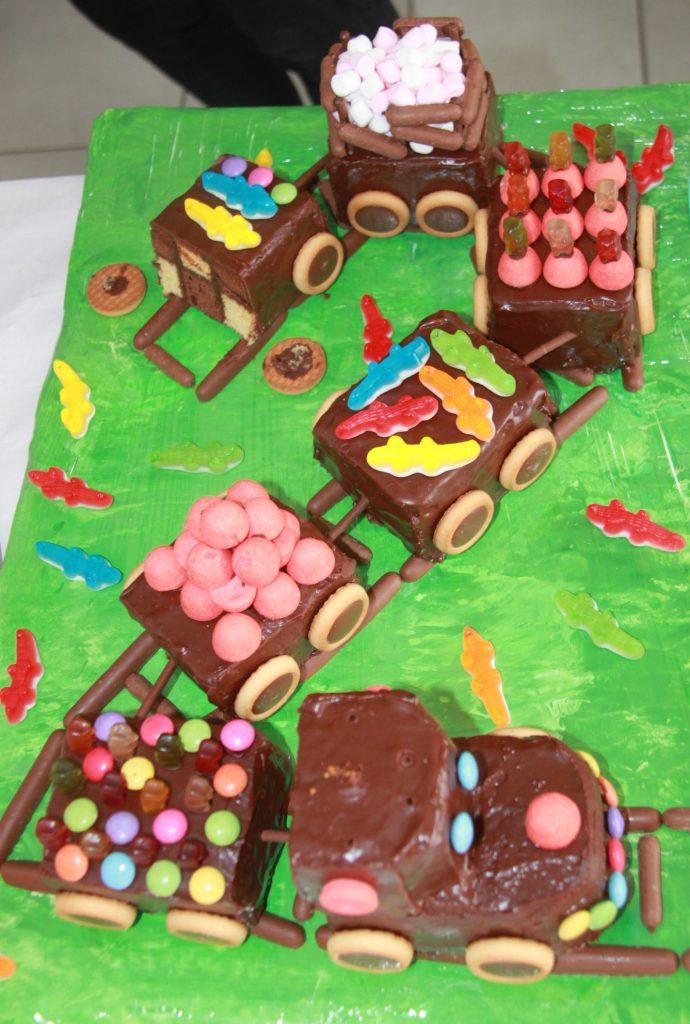 Le superbe Gâteau de C. pour ses 2 ans !