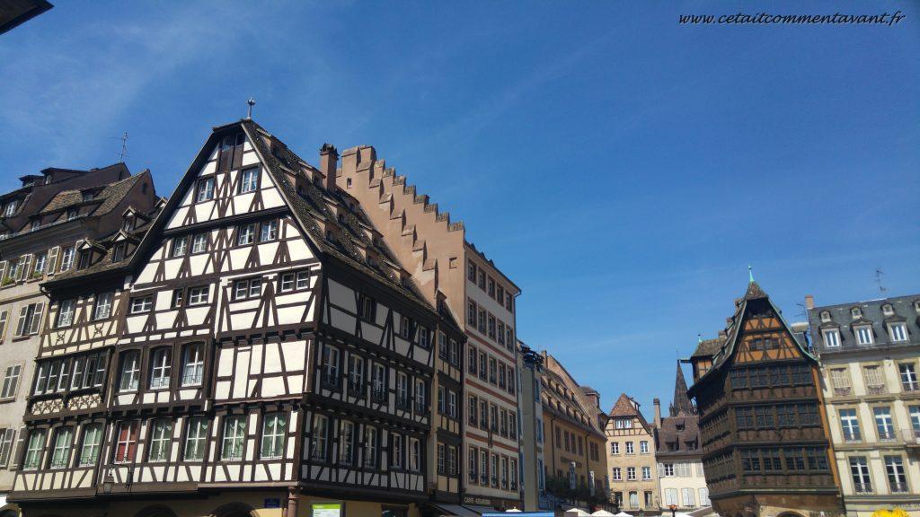 Se balader dans les rues de Strasbourg