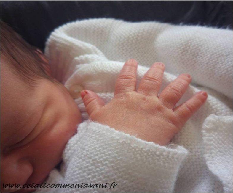 Sniffer du bébé...